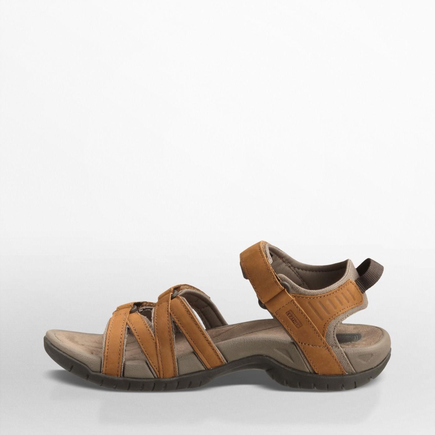 TEVA - Tirra Leather Women's Sandal - Rust