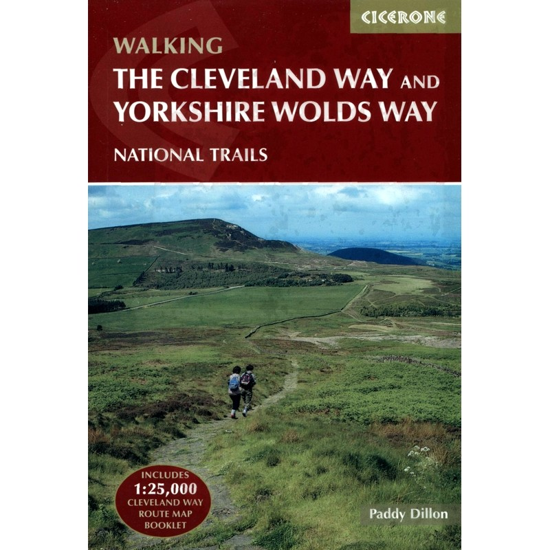 The Cleveland Way and Yorkshire Wolds Way by Cicerone