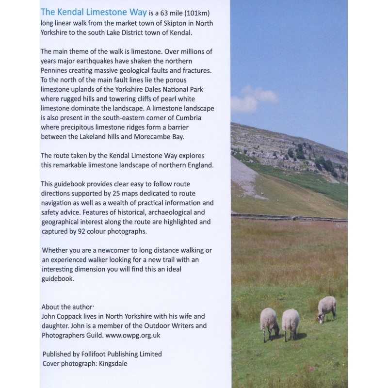 The Kendal Limestone Way: A walk from Skipton to Kendal by Books And Maps