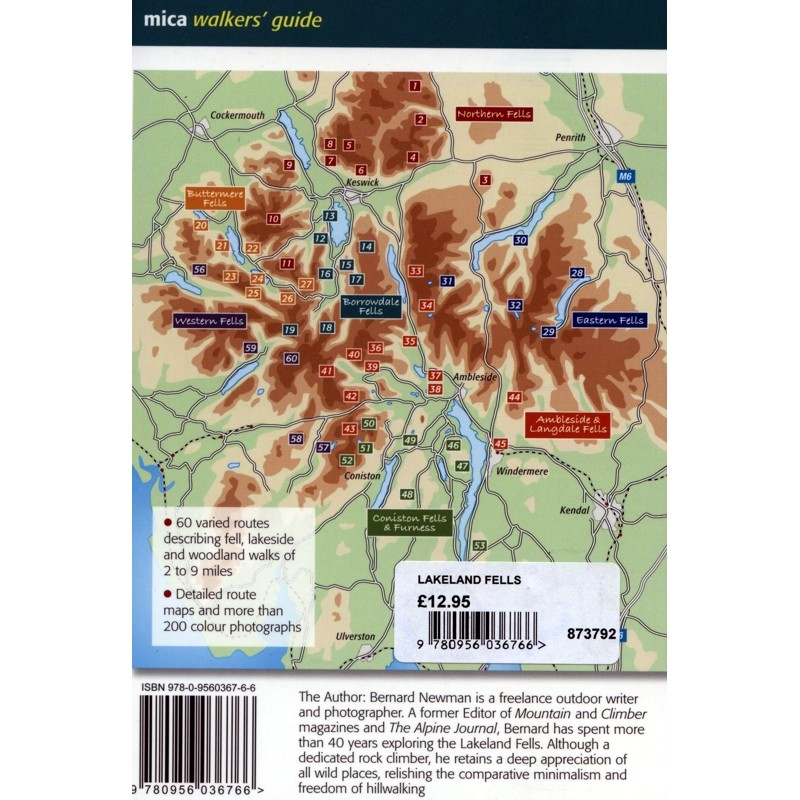 The Lakeland Fells: 60 walks