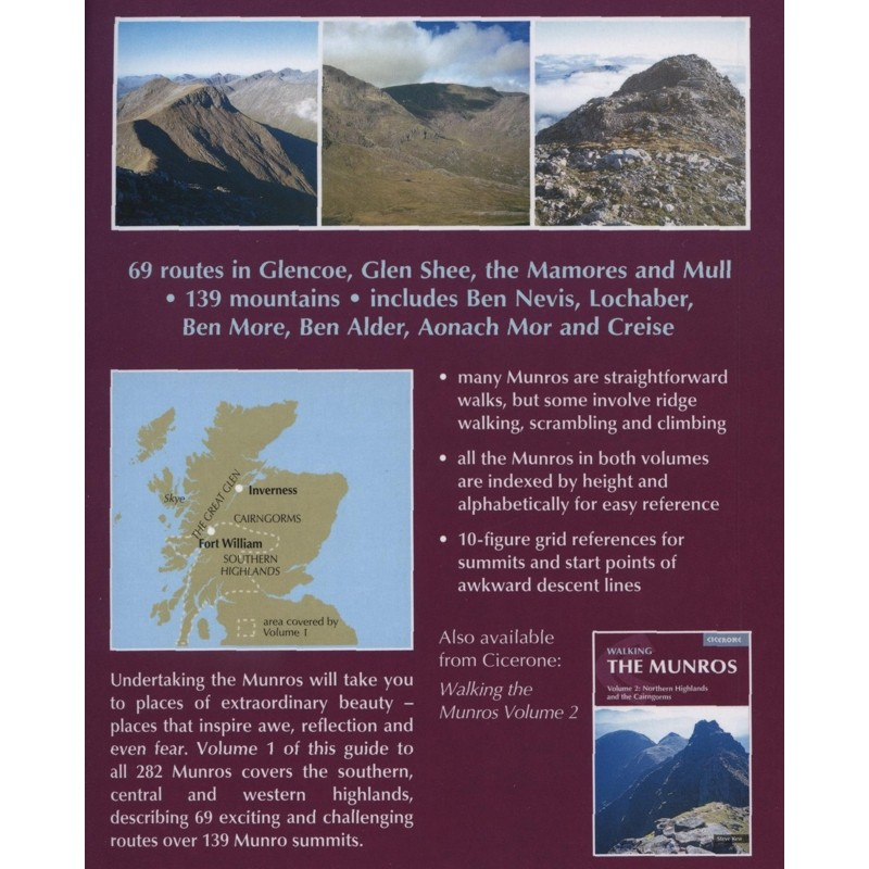 The Munros Volume 1: Southern Central & Western Highlands