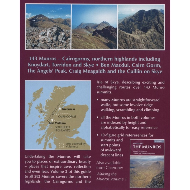 The Munros Volume 2: Northern Highlands and the Cairngorms