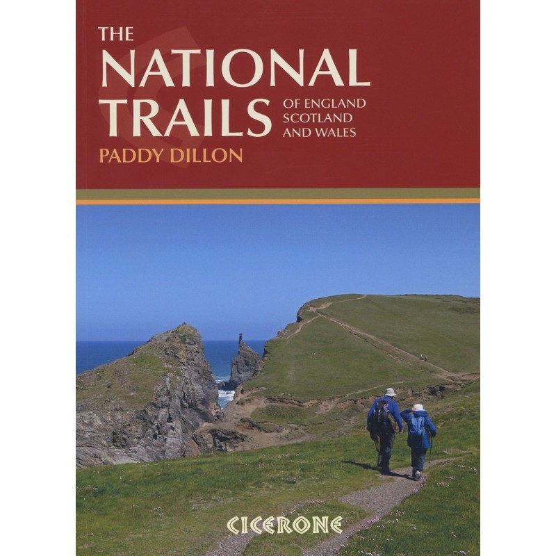 The National Trails: 19 long distance routes through England Scotland and Wales by Cicerone
