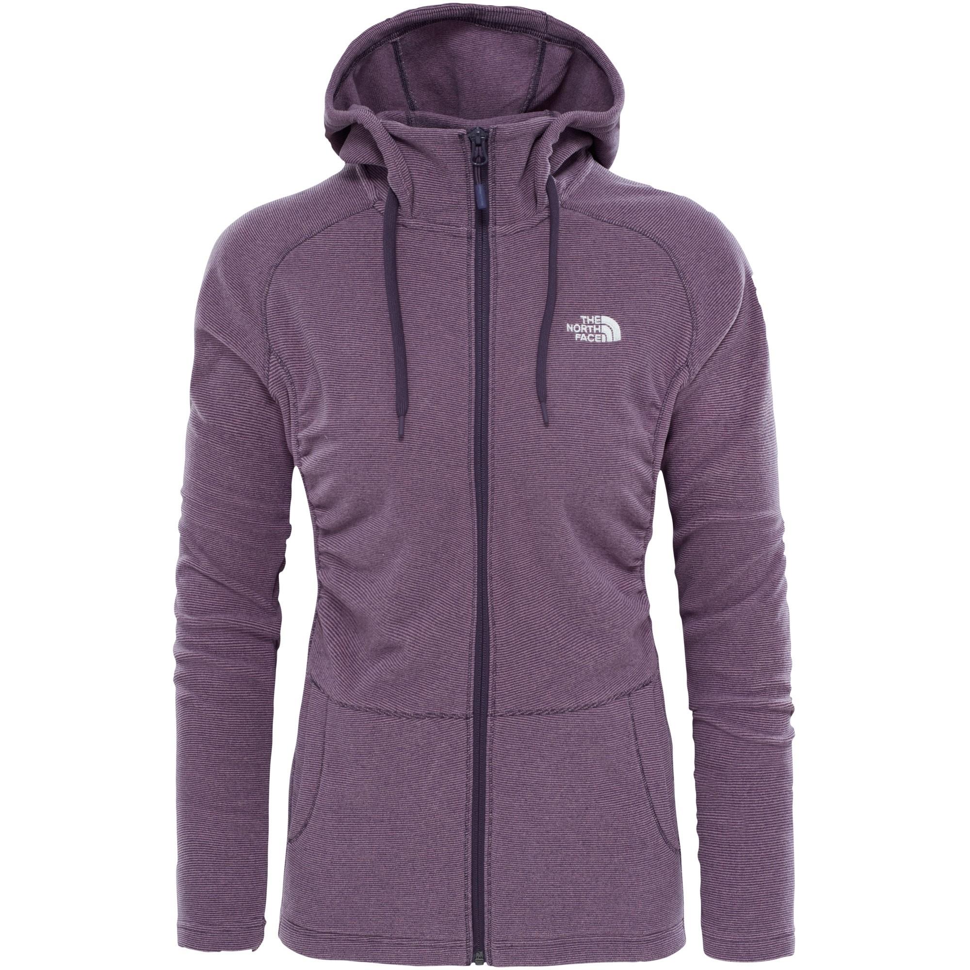 The-North-Face-Womens-Mezzaluna-Full-Zip-Hoodie-Dark-Eggplant-Purple-Stripe-0-W17