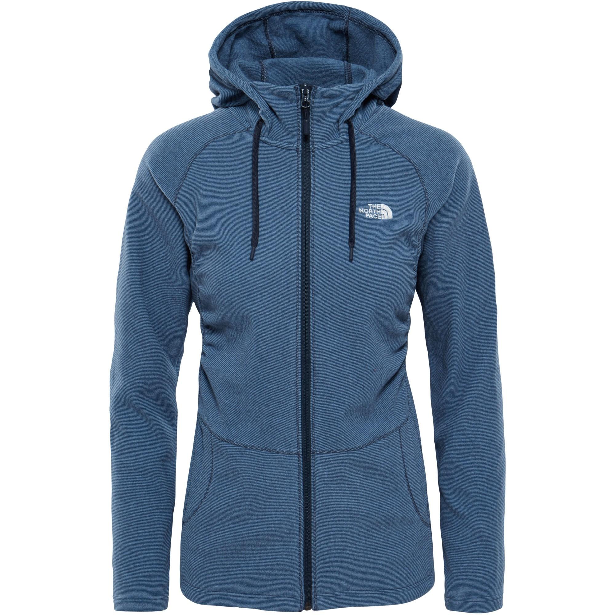 The-North-Face-Womens-Mezzaluna-Full-Zip-Hoodie-Provincial-Blue-Stripe-0-W17