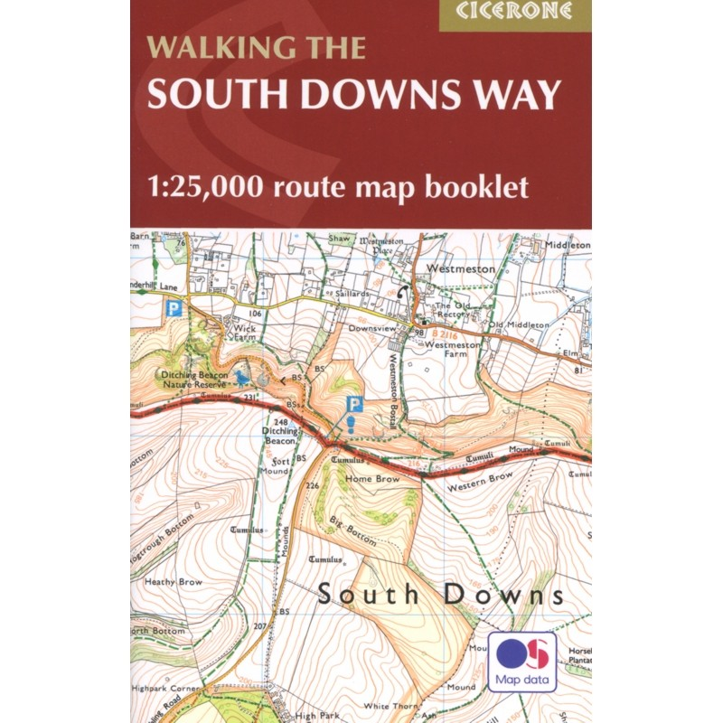 Walking the South Downs Way: National Trail described East-West and West-East