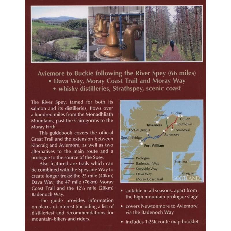 Walking The Speyside Way: includes Dava Way & Moray Coast Trail