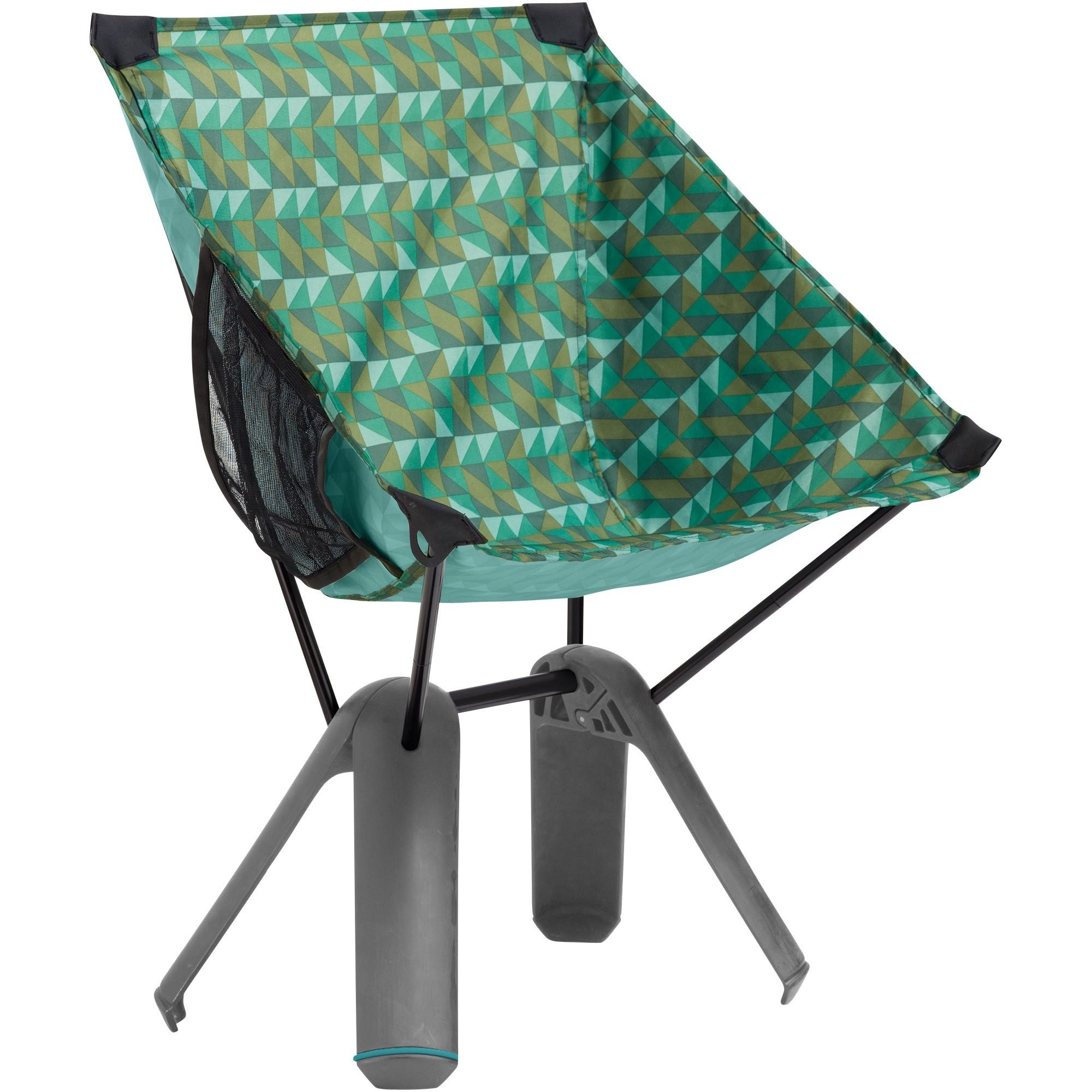 Therm-a-Rest Quadra Camping Chair - Cilantro Print