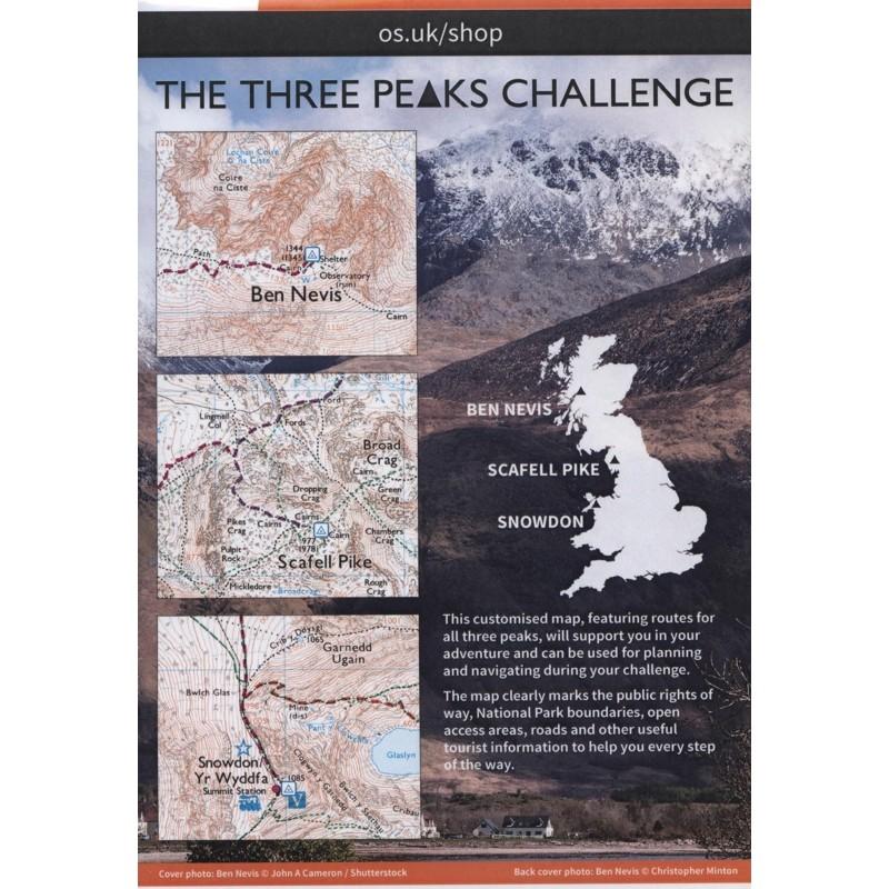 The Three Peaks Challenge: OS Explorer