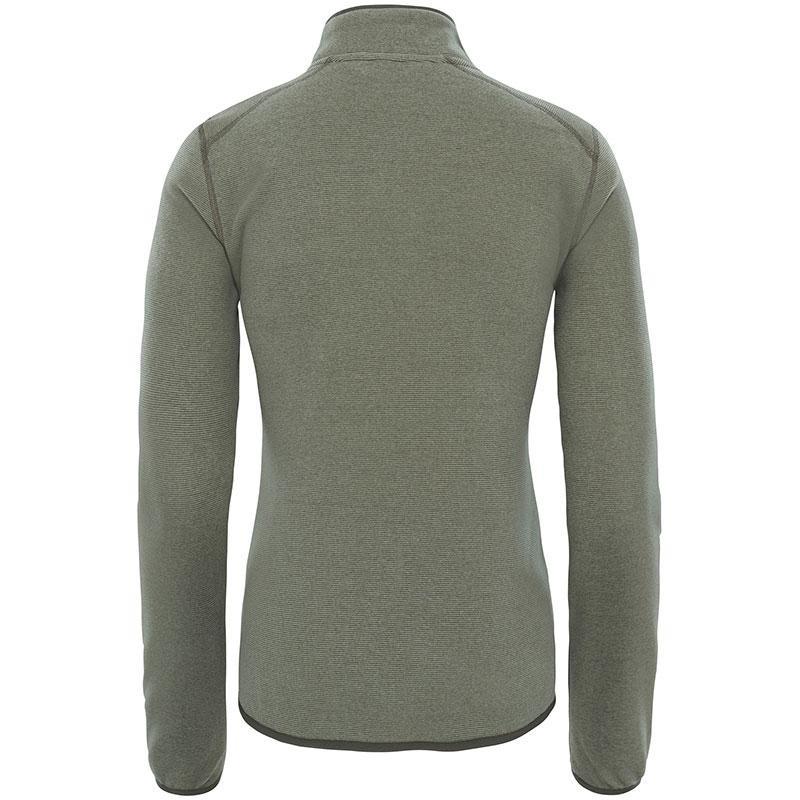 Women's Glacier 100 ¼ Zip Fleece Sweater  - Grape Leaf Stripe