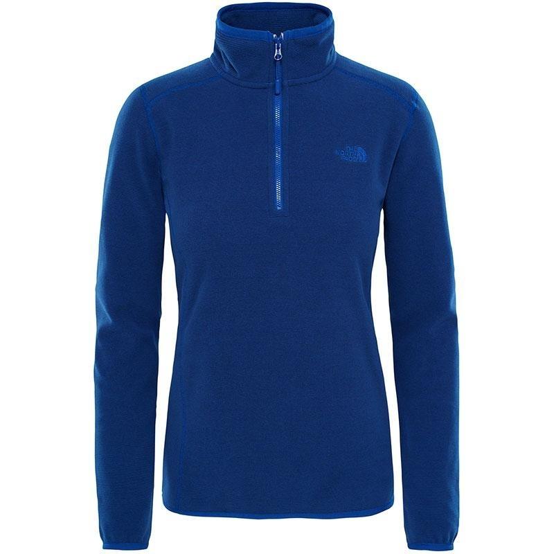 Women's Glacier 100 ¼ Zip Fleece Sweater  - Sodalite Blue Stripe