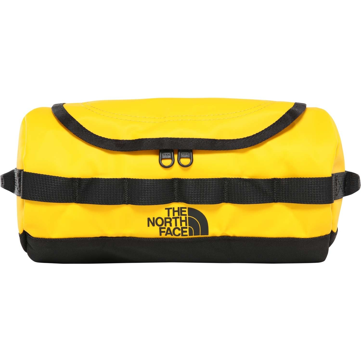 TNF Base Camp Travel Canister Small - Summit Gold/TNF Black