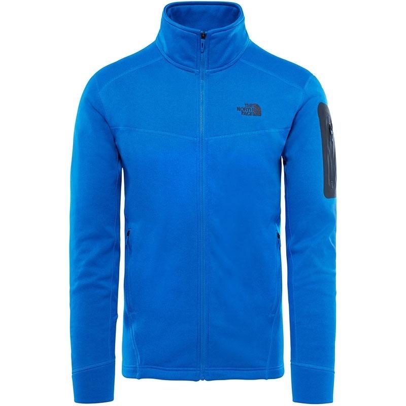 The North Face - Hadoken Full Zip Jacket - Bomber Blue Dark Heather