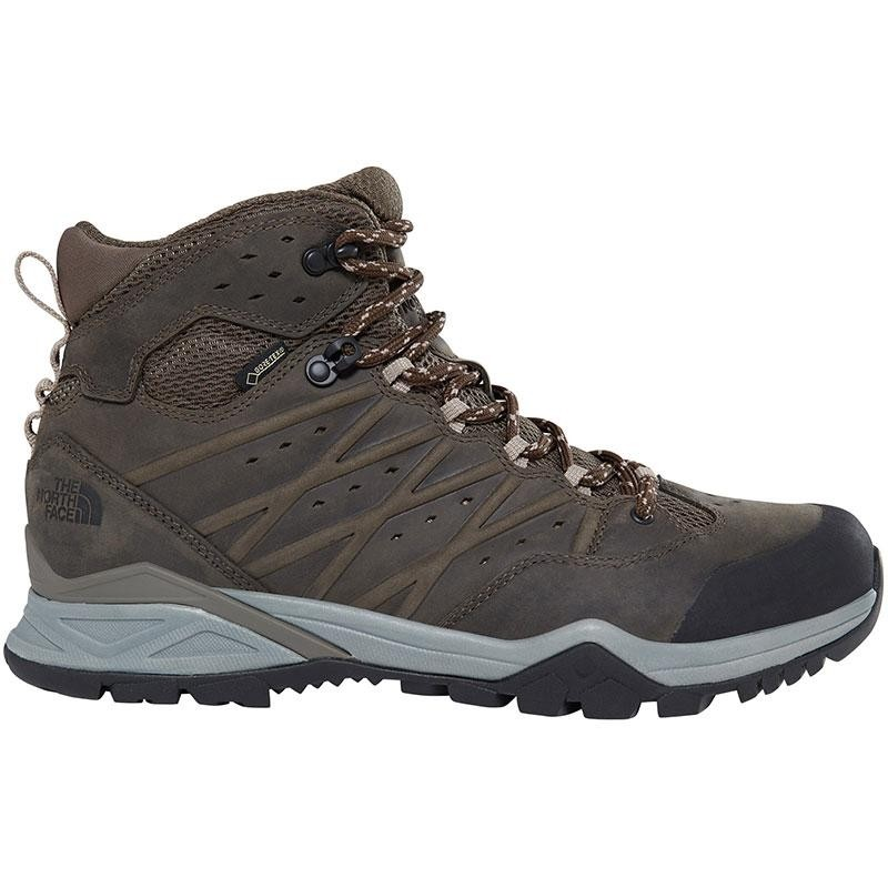 The North Face Hedgehog Hike II Mid GTX - Mens - Tarmac Green/Burnt Olive Green