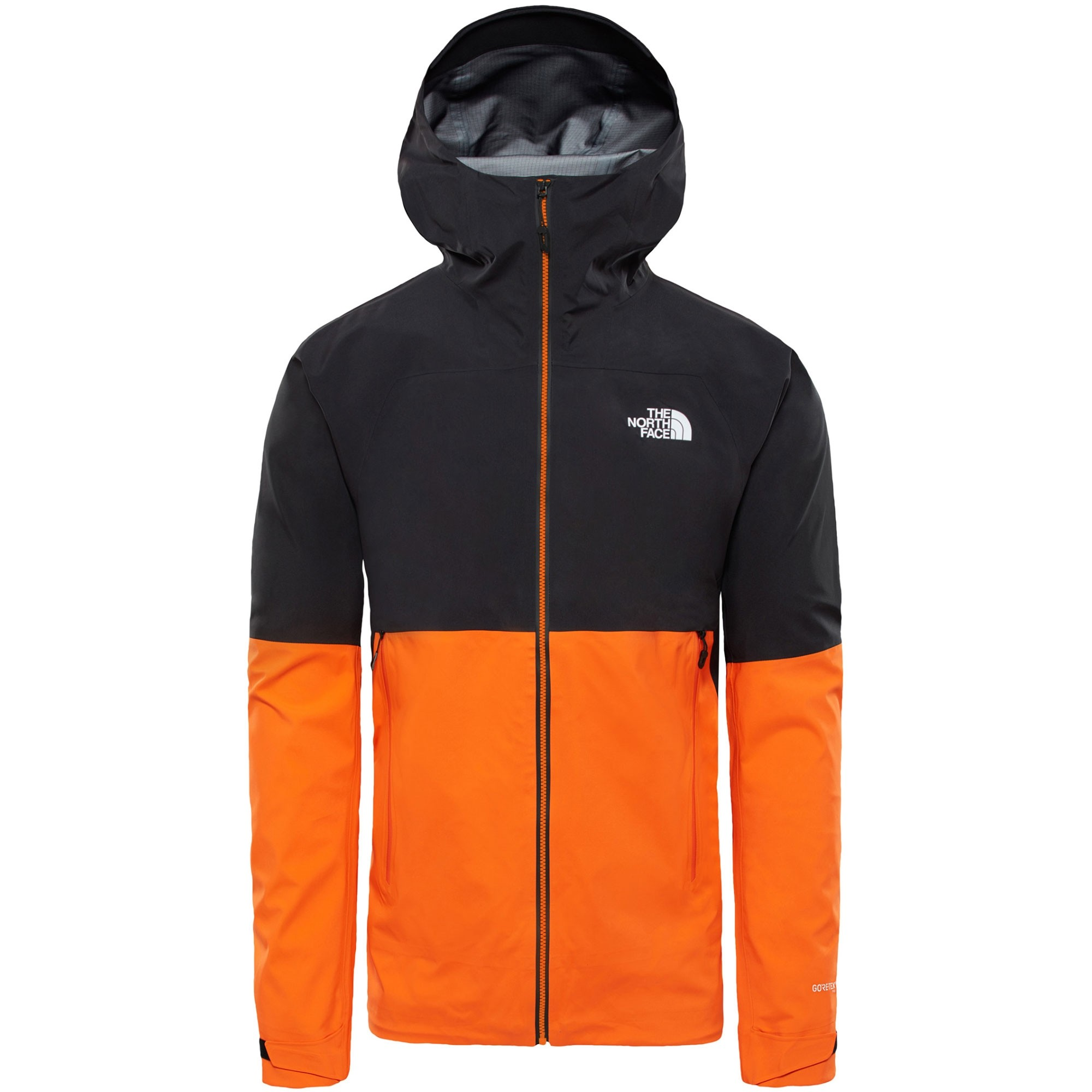 The North Face Impendor Shell Jacket - Persian Orange/TNF Black