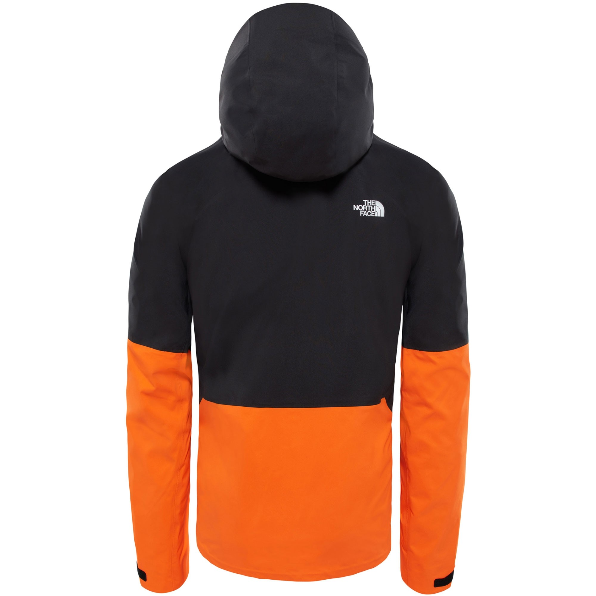 The North Face Impendor Shell Jacket - Persian Orange/TNF Black - rear