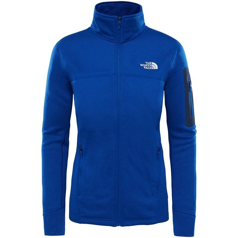 The North Face Kyoshi Full Zip Women's Fleece Jacket - Sodalite Blue Heather