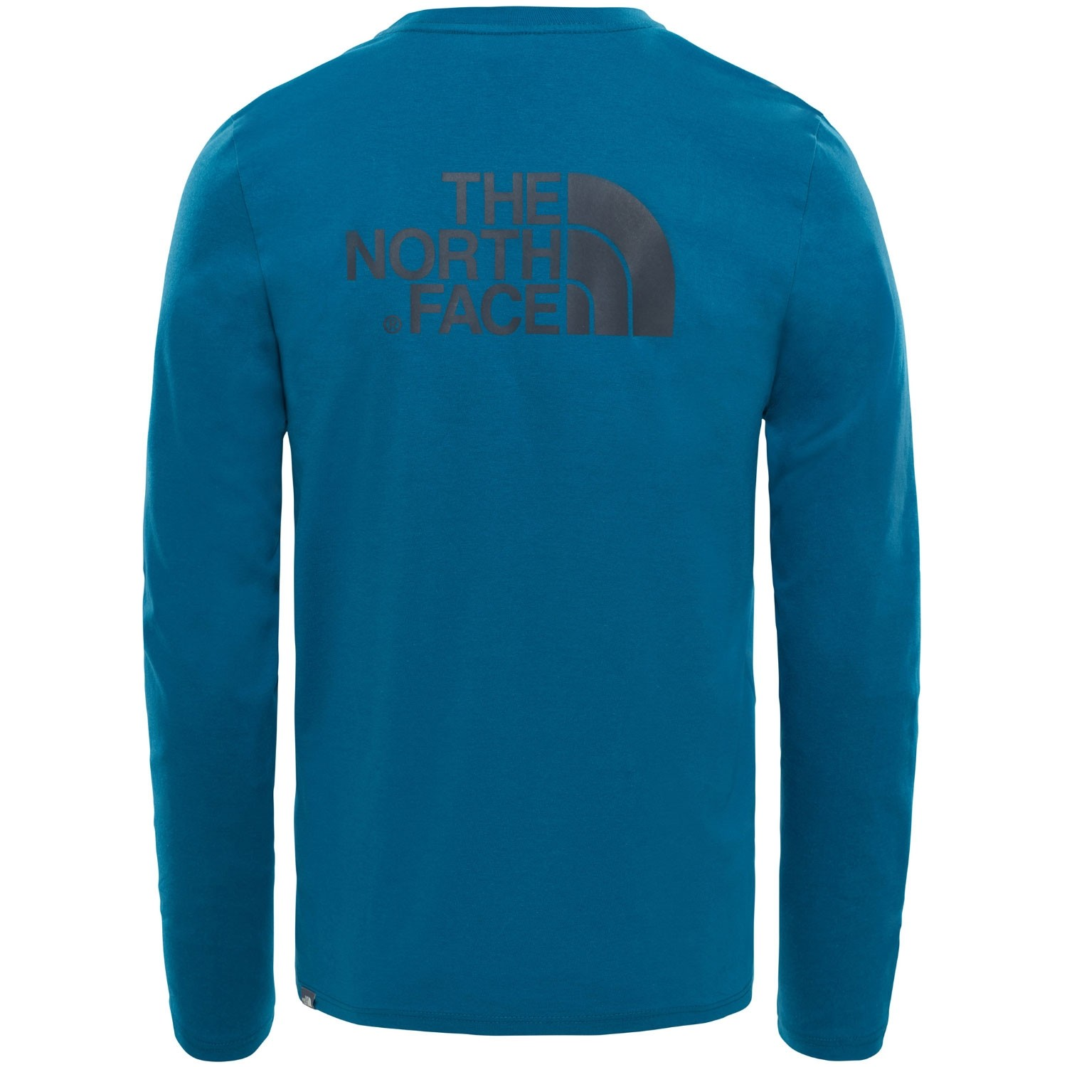 The North Face Long Sleeve Easy Tee - Blue Coral - Back