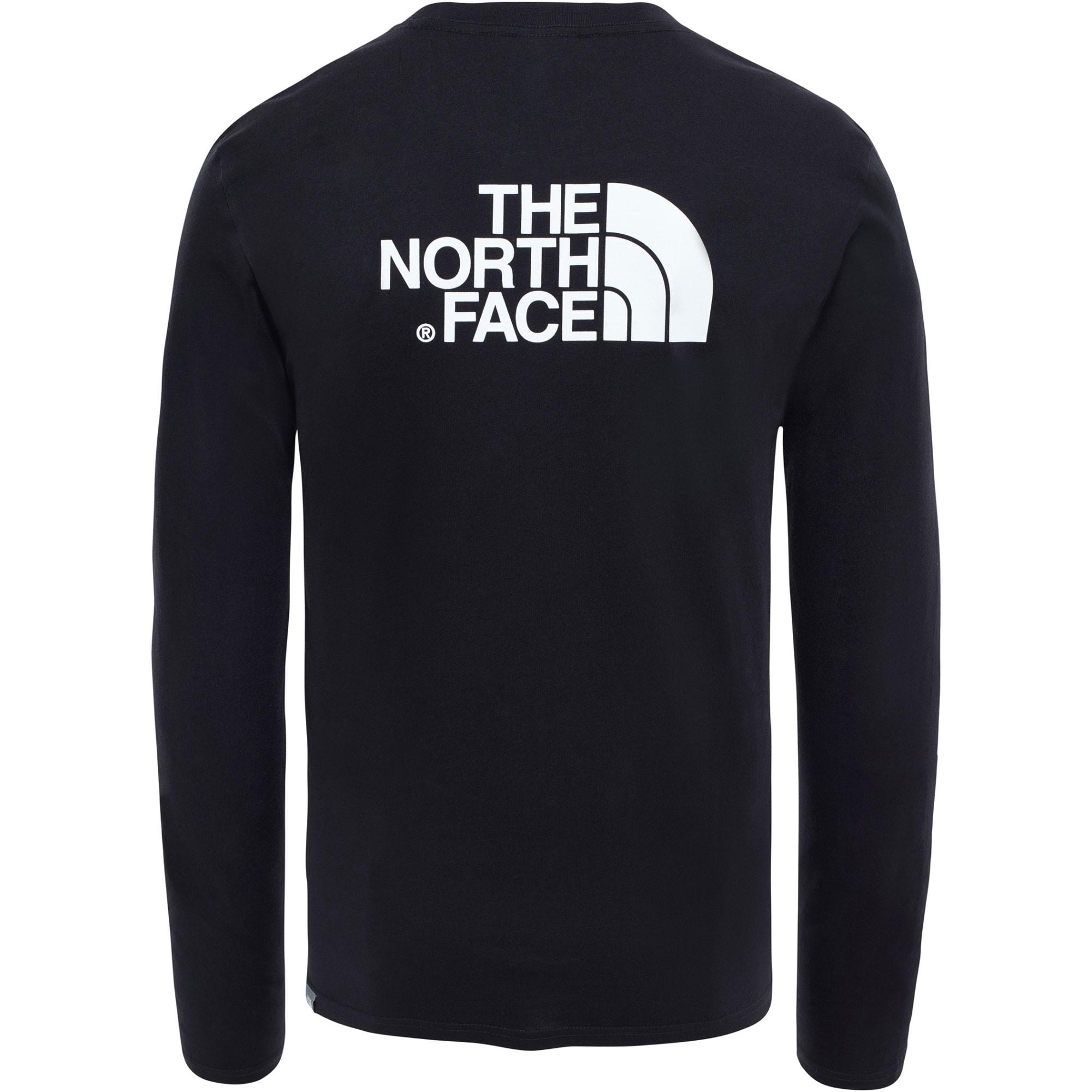 The North Face Long Sleeve Easy Tee - TNF Black