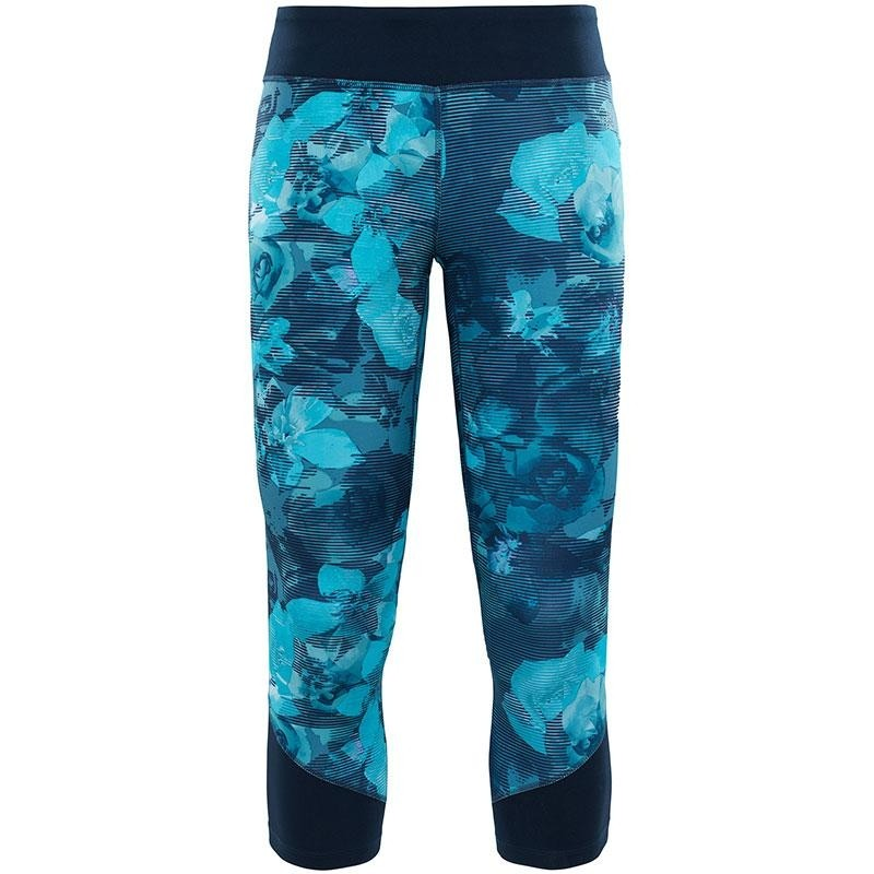 The North Face Women's Pulse Capri Tight - Bristol Botanic Blue