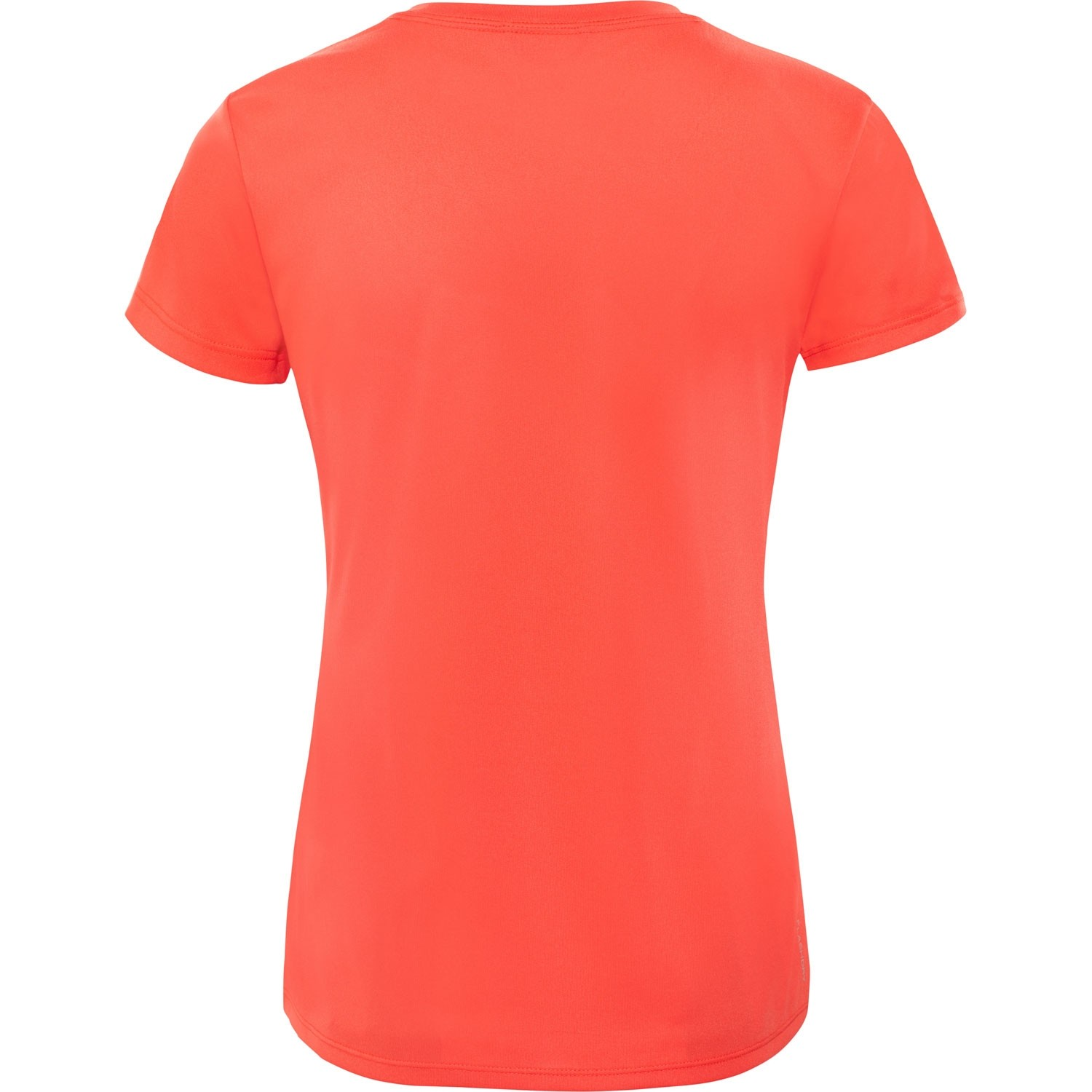 The North Face Reaxion Amp Crew Women's T-Shirt - Juicy Red/TNF White