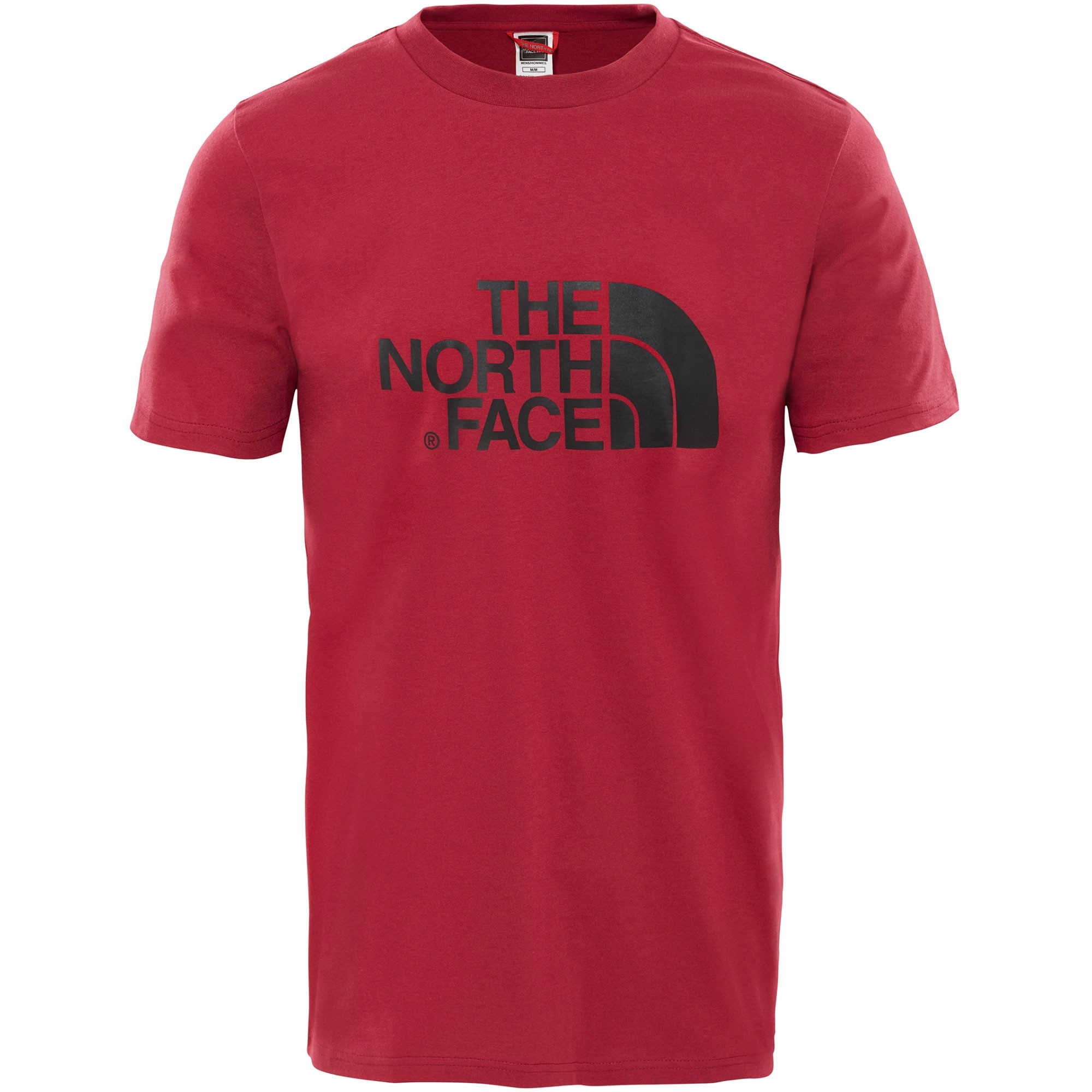 The North Face Short Sleeved Easy Tee - Rumba Red