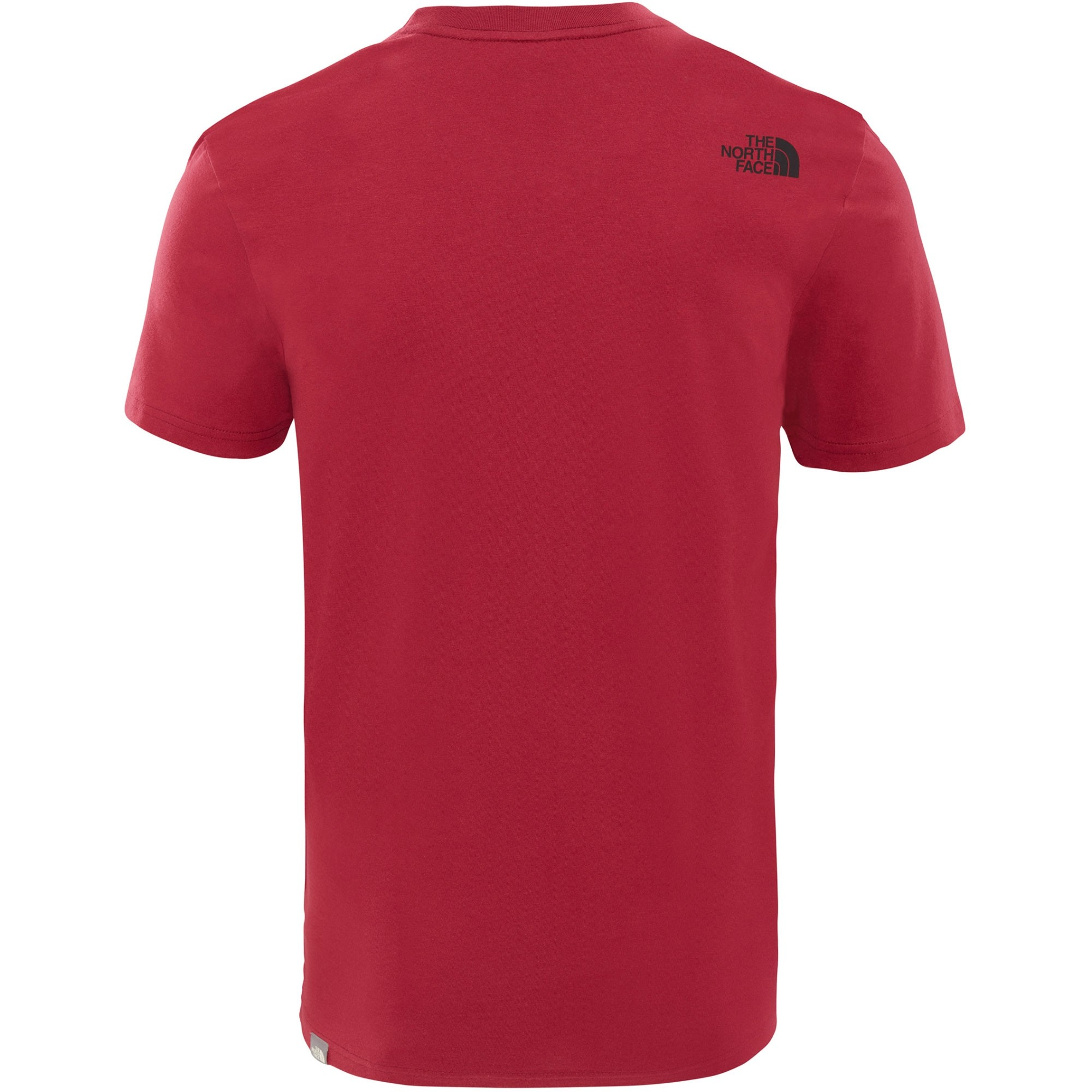 The North Face Short Sleeved Easy Tee - Rumba Red - back
