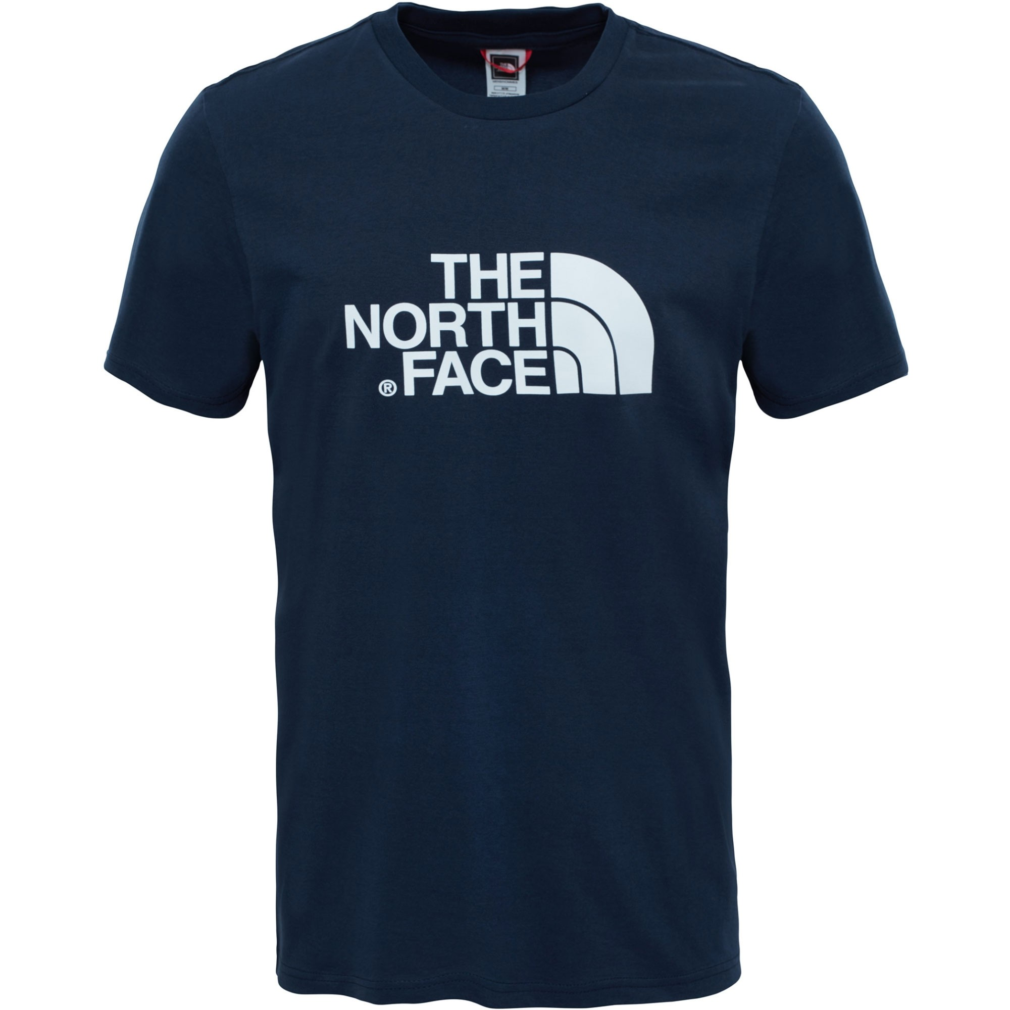 The North Face Short Sleeved Easy Tee - Urban Navy/TNF White