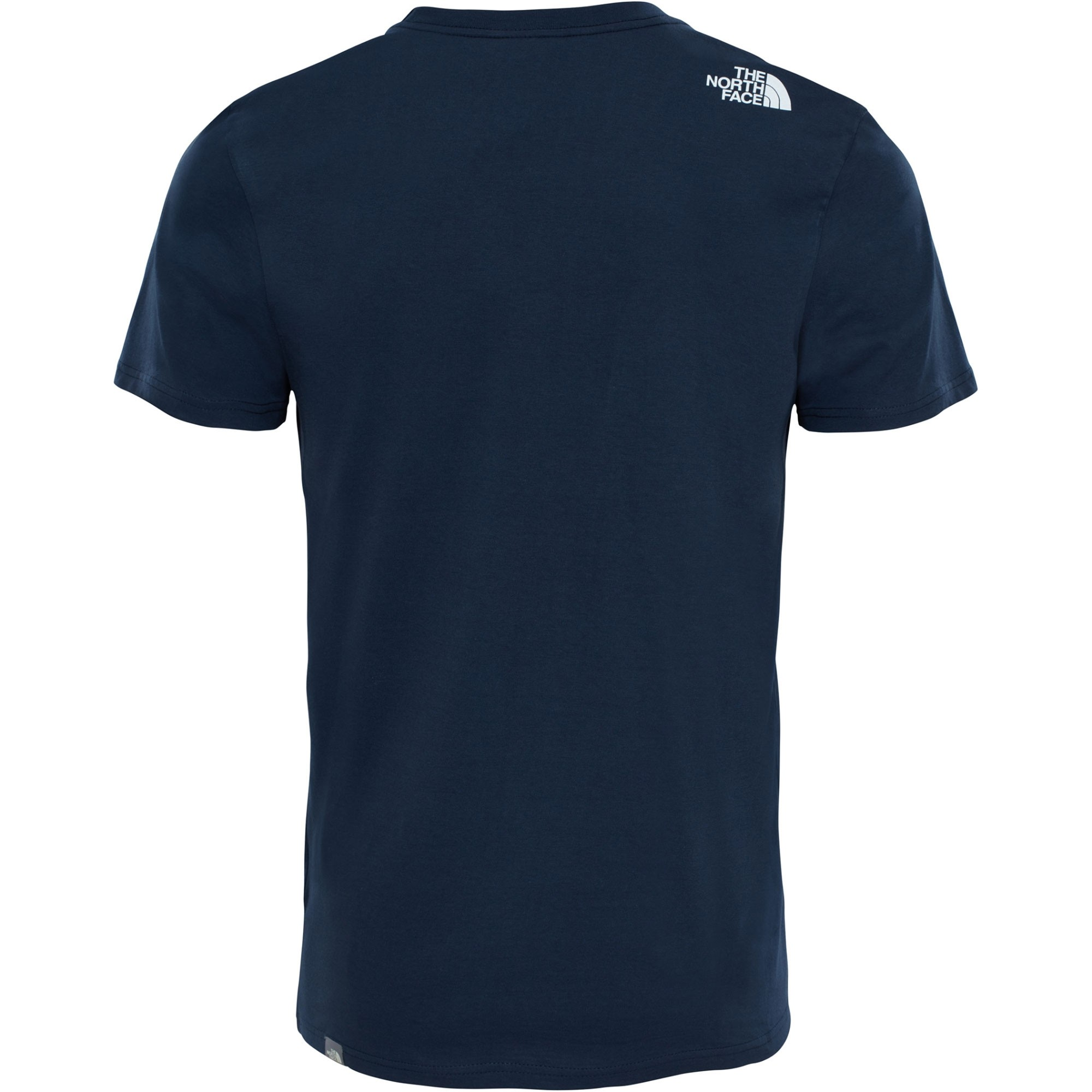The North Face Short Sleeved Easy Tee - Urban Navy/TNF White - back