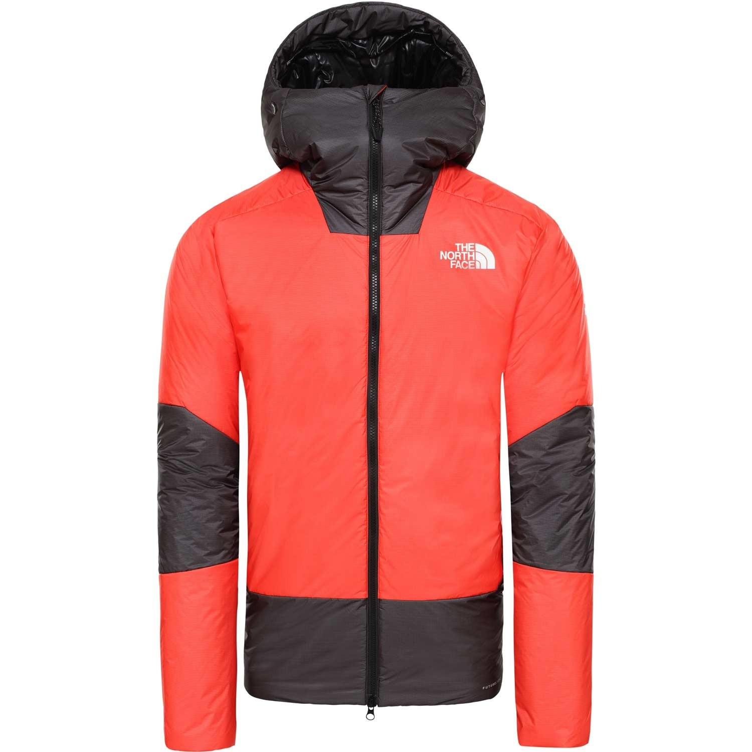 The North Face Summit L6 Synthetic Belay Parka - Fiery Red/TNF Black