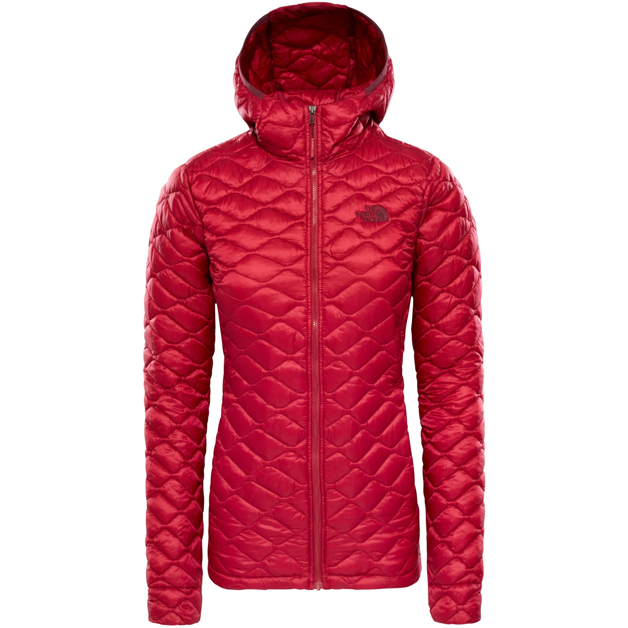 The North Face Thermoball Hoodie - Rumba Red