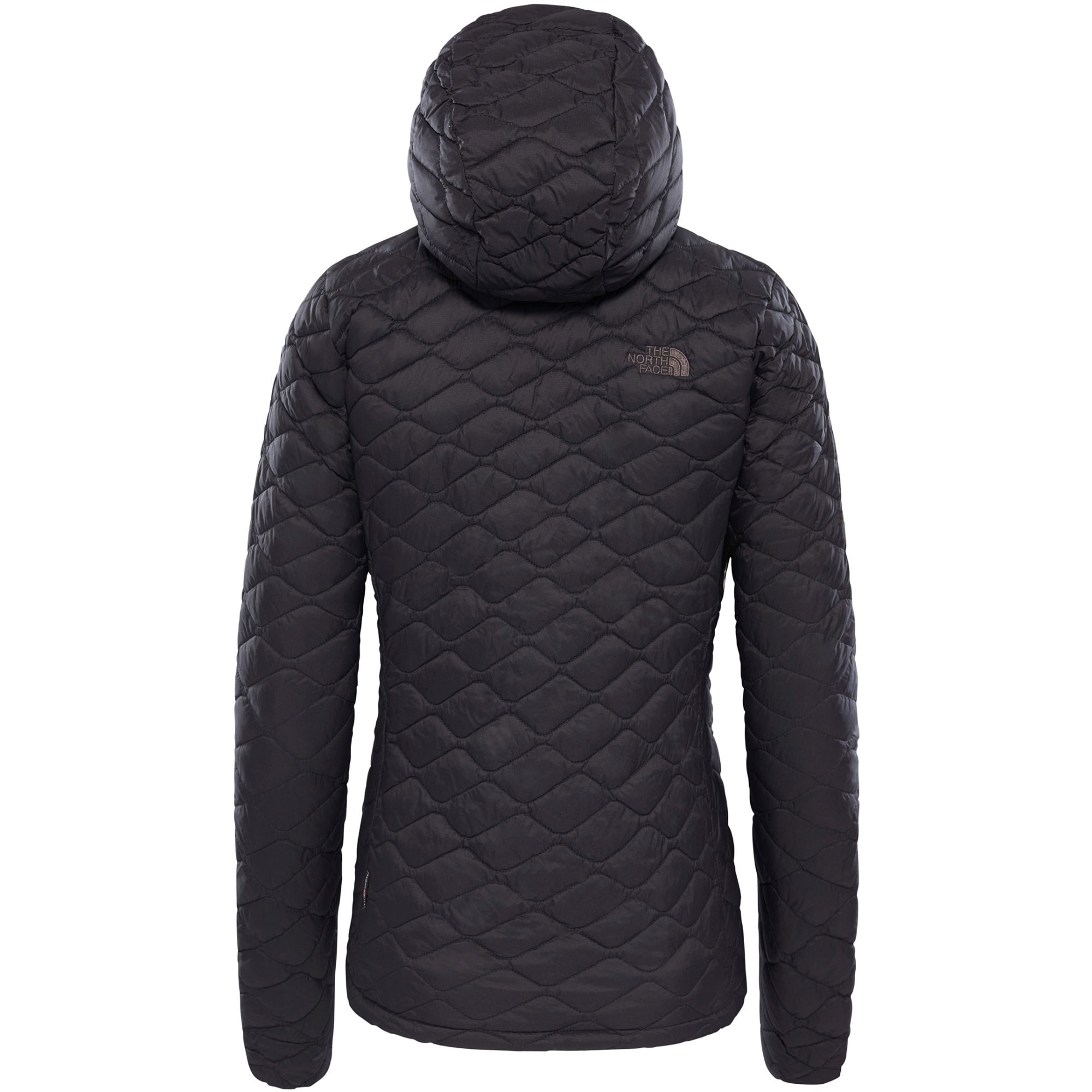 The North Face Thermoball Hoodie - TNF Matte Black - back