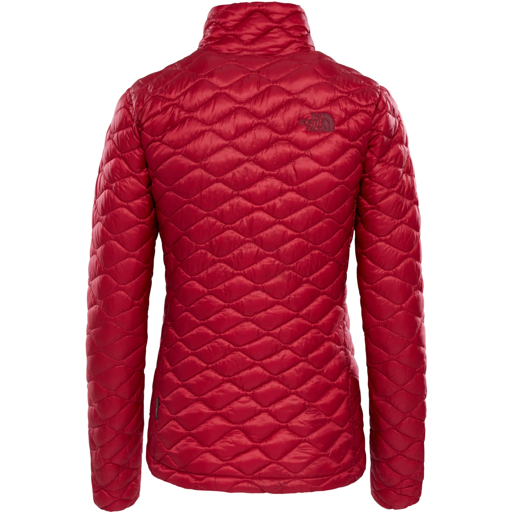 The North Face Thermoball Hoodie - Rumba Red - back