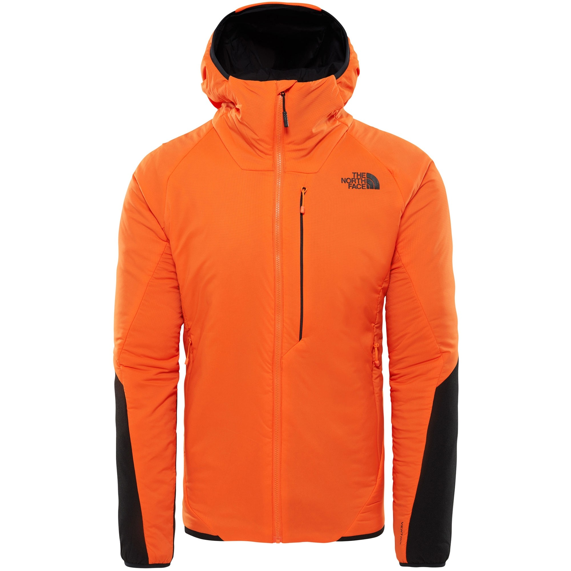 The North Face Ventrix Men's Insulated Hoodie - Persian Orange/TNF Black