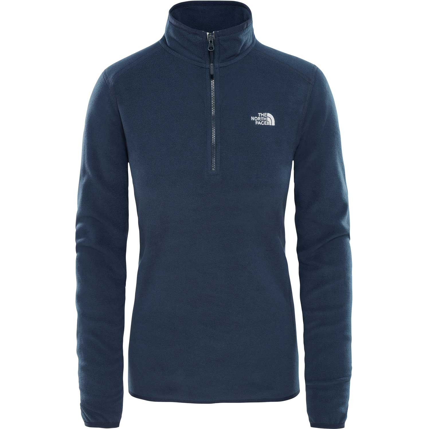 TNF 100 Glacier 1/4 Zip Womens Fleece - Urban Navy