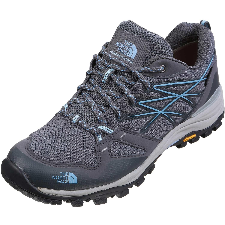 TNF Hedgehog Fastpack GTX Hiking Shoes  - Zinc Grey/Airy Blue