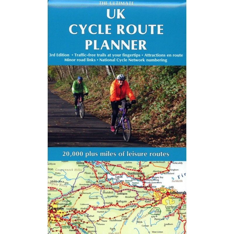 UK Cycle Route Planner by Excellent Books