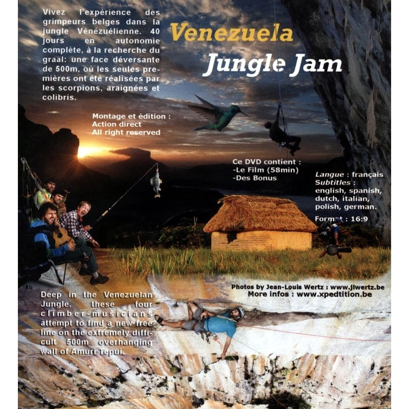 Venezuela Jungle Jam DVD