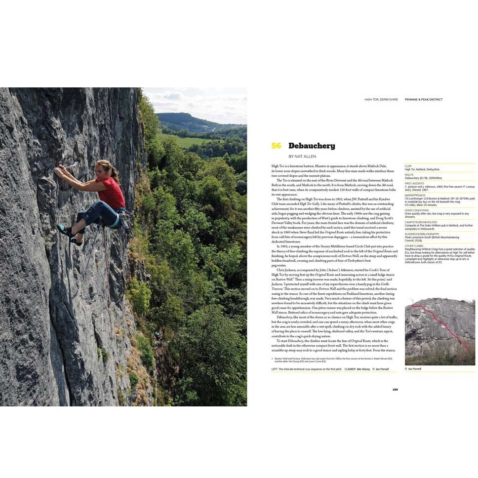 Hard Rock: Great British Rock Climbs from VS to E4