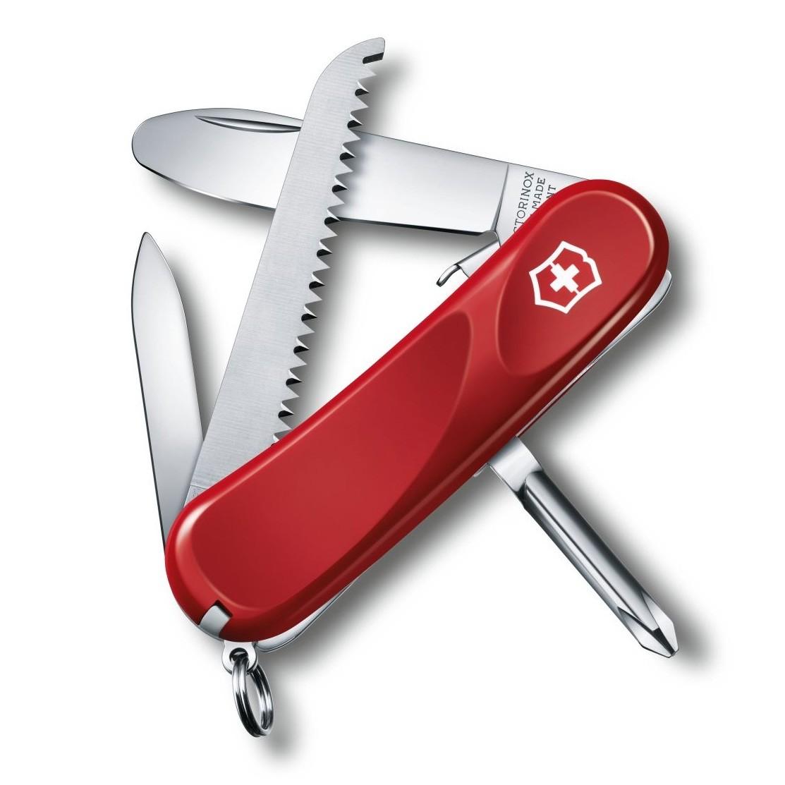 Victorinox Junior 09 Pocket Knife - Red
