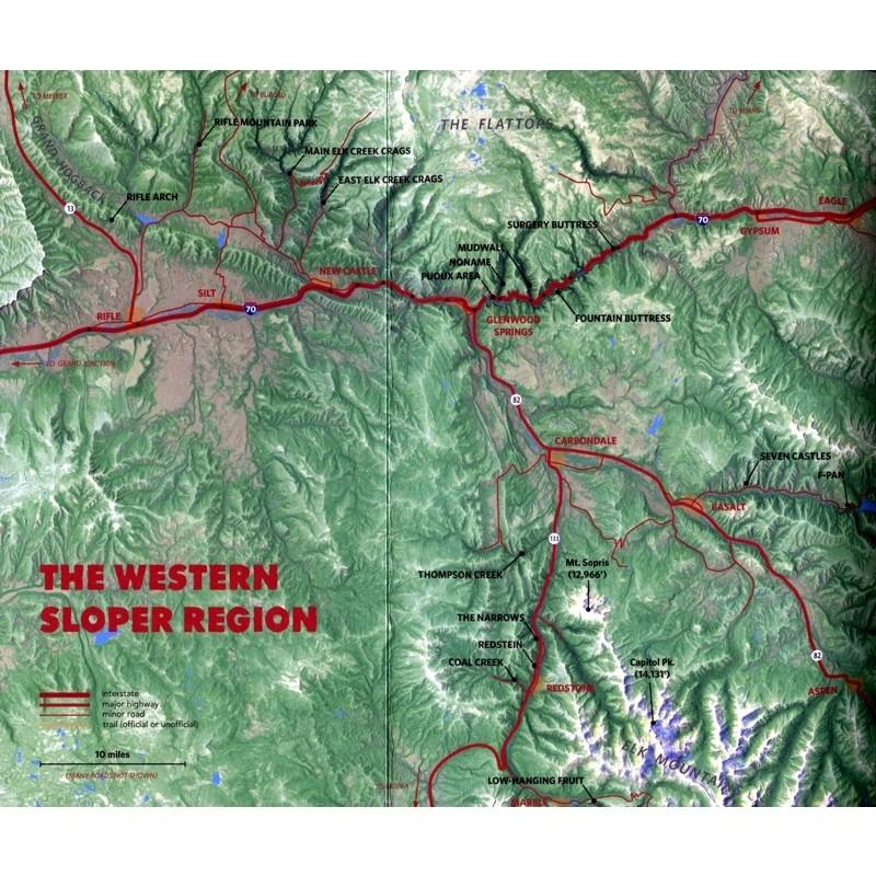 Western Sloper: Western Colorado Rock Climbs Volume 2 by Wolverine Publishing