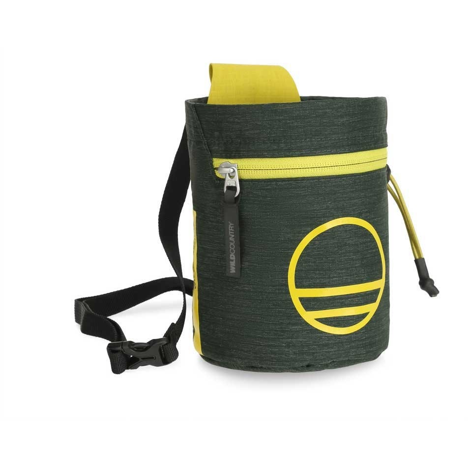 Wild Country Flow Chalkbag - Scarab/Citronelle