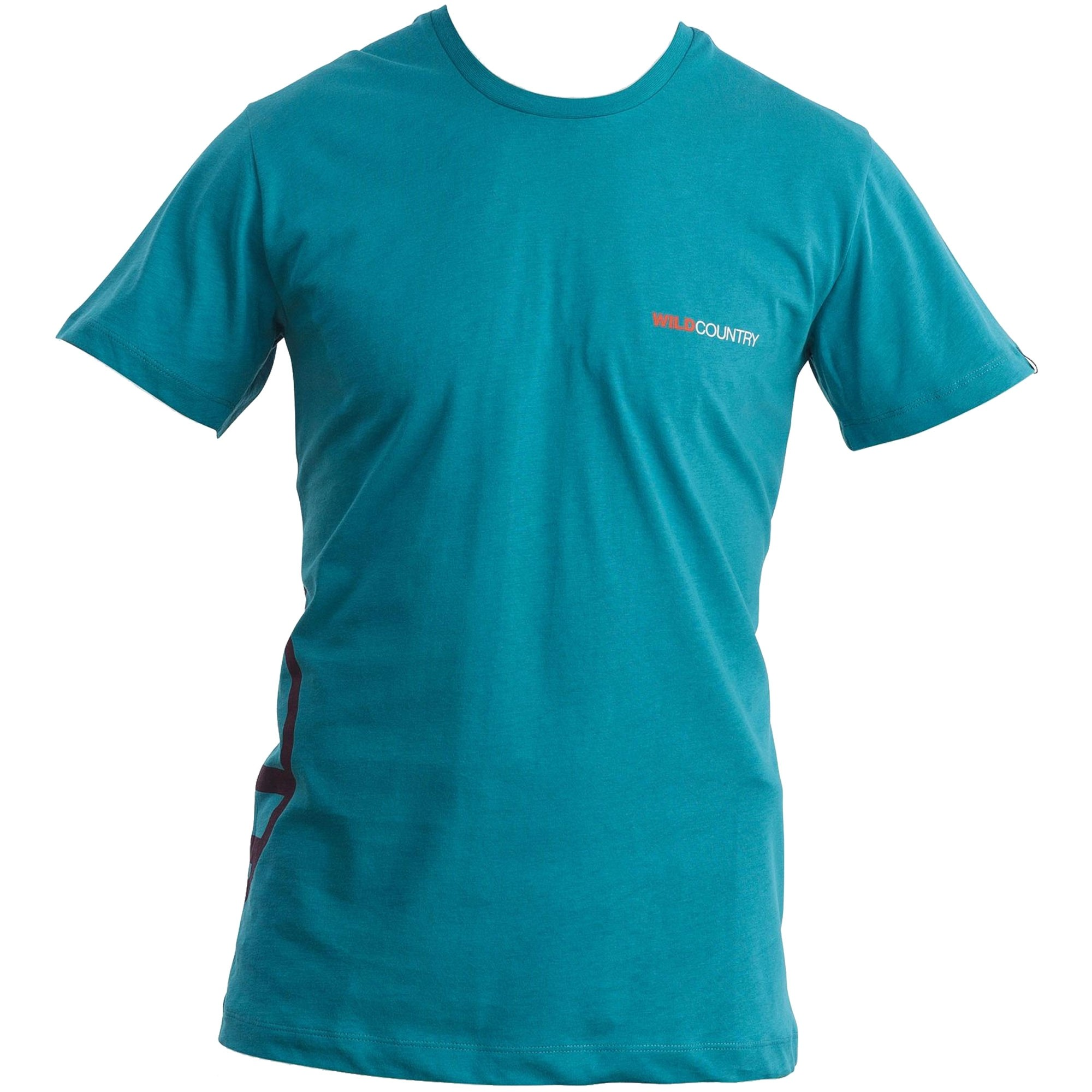 Wild Country Logo T - Harbor Blue - Front