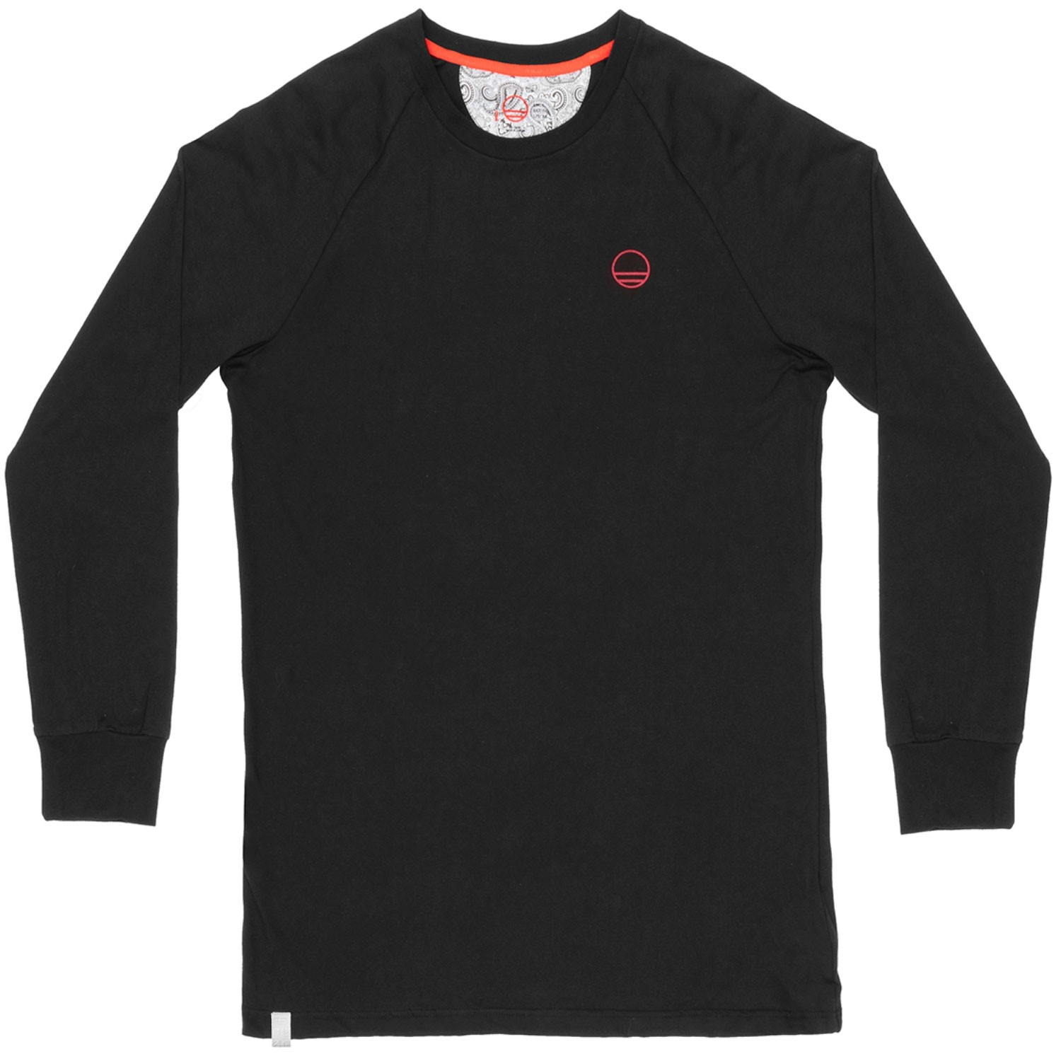 Wild Country Stanage Long Sleeve Tee - Black Out