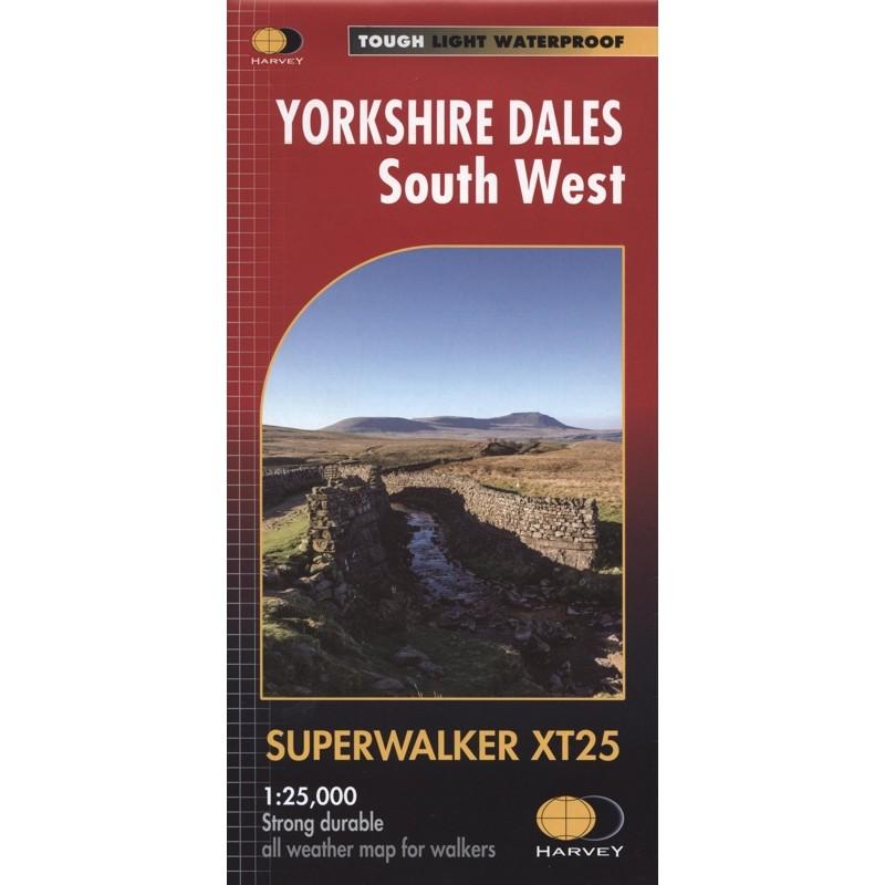 Yorkshire Dales South West: Harvey Superwalker XT25