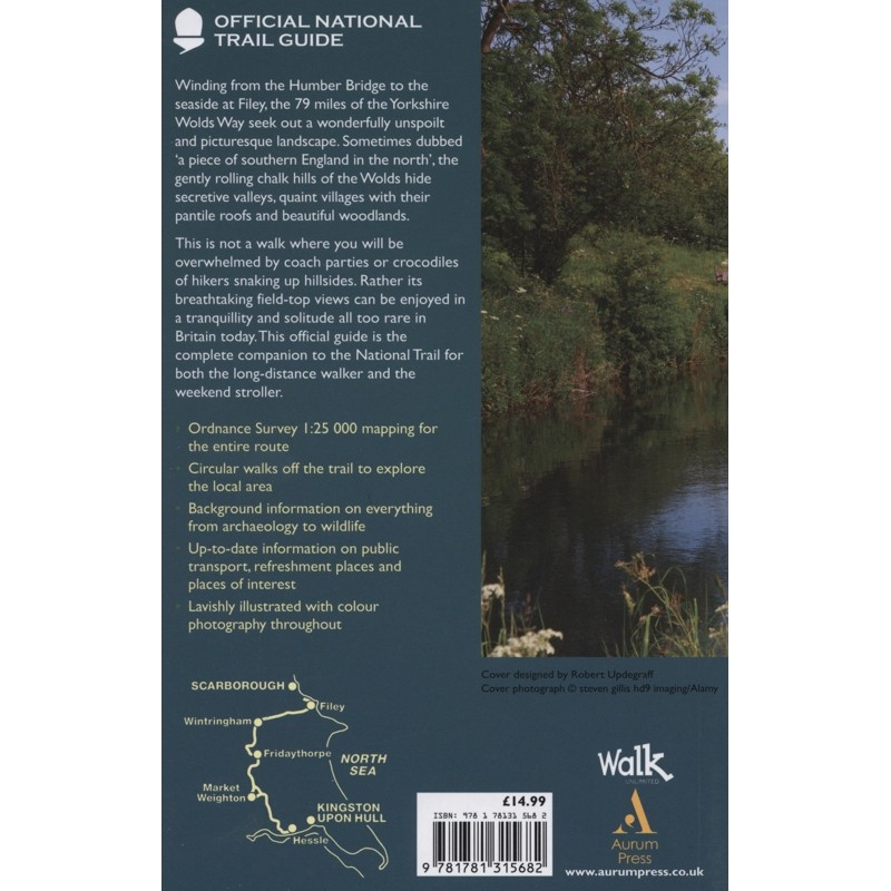 Yorkshire Wolds Way: Official National Trail Guide 14