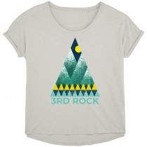 3rd Rock Valley Relaxed Loose Fit Tee - Women's - Green Tea