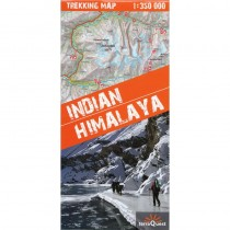 Indian Himalaya Trekking Map by terraQuest