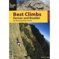 Best Climbs Denver and Boulder by Falcon Guides