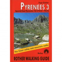 Pyrenees 3: Eastern Spanish Pyrenees by Bergverlag Rother